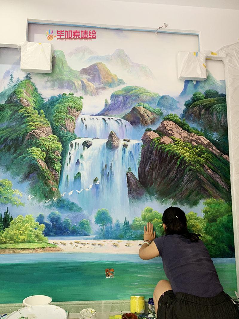 别墅浮雕壁画