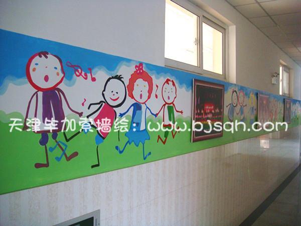 天津手绘墙_天津毕加索墙绘公司